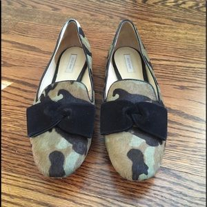 Cole Haan Calf Hair Camo Flats